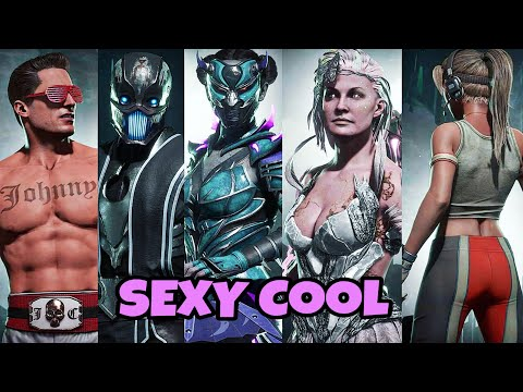 Mortal Kombat 11 / Custom Sexy Cool Outfits Showcase