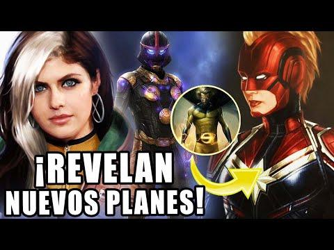 ¡FUERTES FILTRACIONES! Sentry llega a Disney plus - Nova y Rogue en Captain Marvel 2 (¿Rumores?)