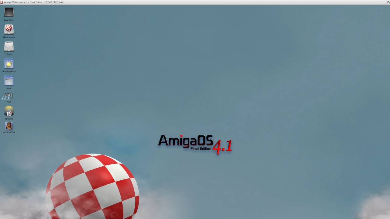 Amiga OS 4 1 FE for classic Computers - RETROGAMING