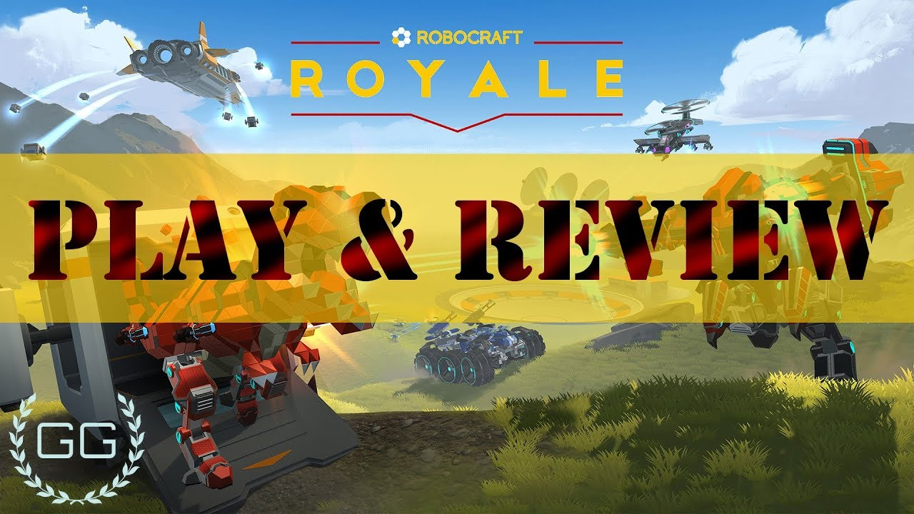 Robocraft Royale - Play and Review - YouTube