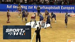 Basketball: Aufstiegskrimi Rockets Gotha vs. Niners Chemnitz in voller Länge | Sport im Osten | MDR