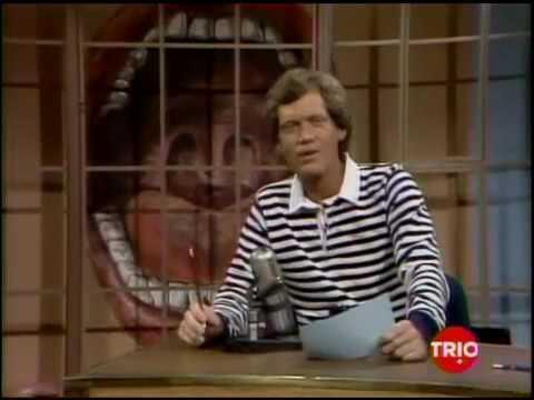11 15 1983 Letterman Teri Garr, Dr. Ruth Westheimer Trio