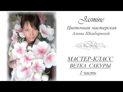 БЕСПЛАТНЫЙ МК - Ветка Сакуры -  1часть
