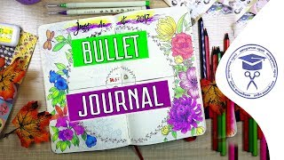 PLAN WITH ME | The Bulletin Journal | System Bullet Journal | How to Make Bullet Journal
