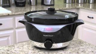 Hamilton Beach® 6 Quart IntelliTime Slow Cooker 33365