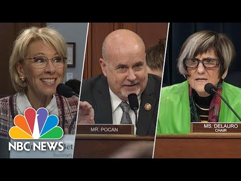 Congress Grills DeVos On 'Appalling' Budget Cuts To Special Education | NBC News