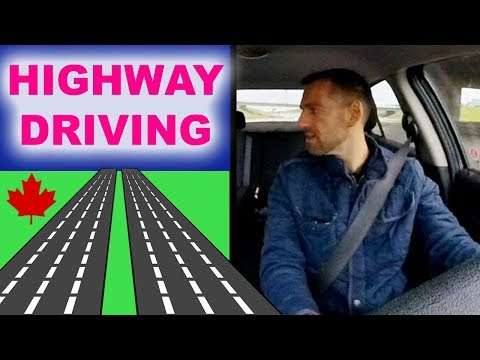 Canada Highway Driving Lesson