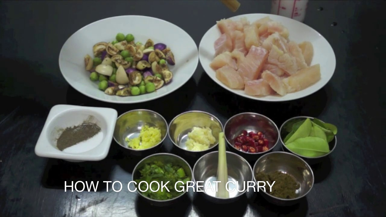 Download Thai Fish Curry Recipe