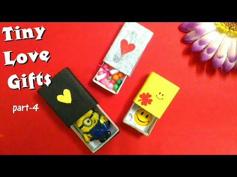 Tiny Love Gifts anyone can make || DIY Valentine's Gift ideas || Handmade Anniversary Gift ideas
