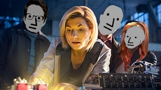 Dr Who attacks King James, as ratings plummet. Fans are switching off!