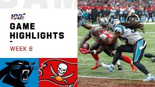 Panthers vs. Buccaneers Week 6 Highlights | NFL 2019