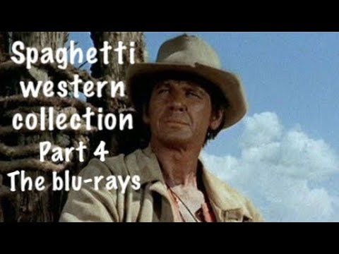My Spaghetti western collection Part 4, The blu rays