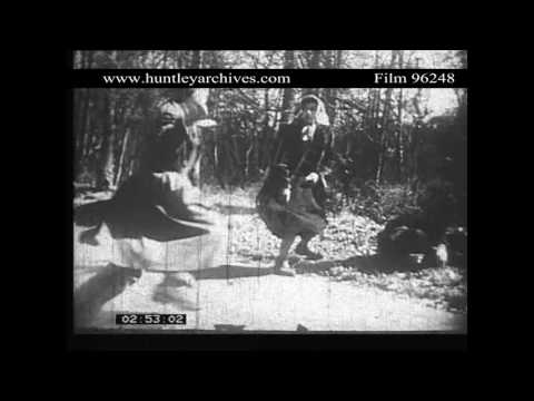 Woman Successfully Defends Herself Against Attackers.  Archive film 96248