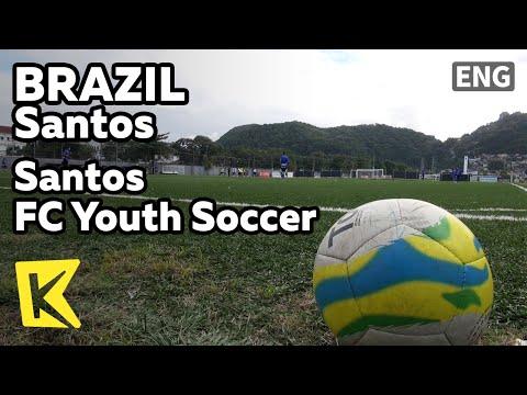 【K】Brazil Travel-Santos[브라질 여행-산투스]산투스 FC 유소년 축구단/Santos FC Youth Soccer/Pepe/Neymar Jr.