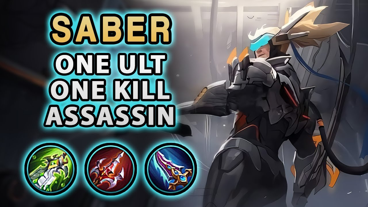 Wow! This New Saber Skin Doesn't Make Him Stronger | Mobile Legends