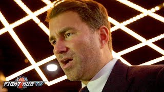 """EDDIE HEARN """"CHARLO MUST COME TO DAZN; GGG HAS TO OR HES NOT GETTING THE CANELO FIGHT!"""""""