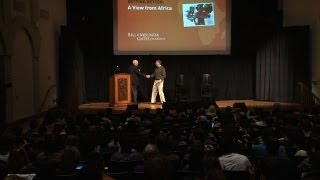 Bill Gates Talks About Africa at Stanford