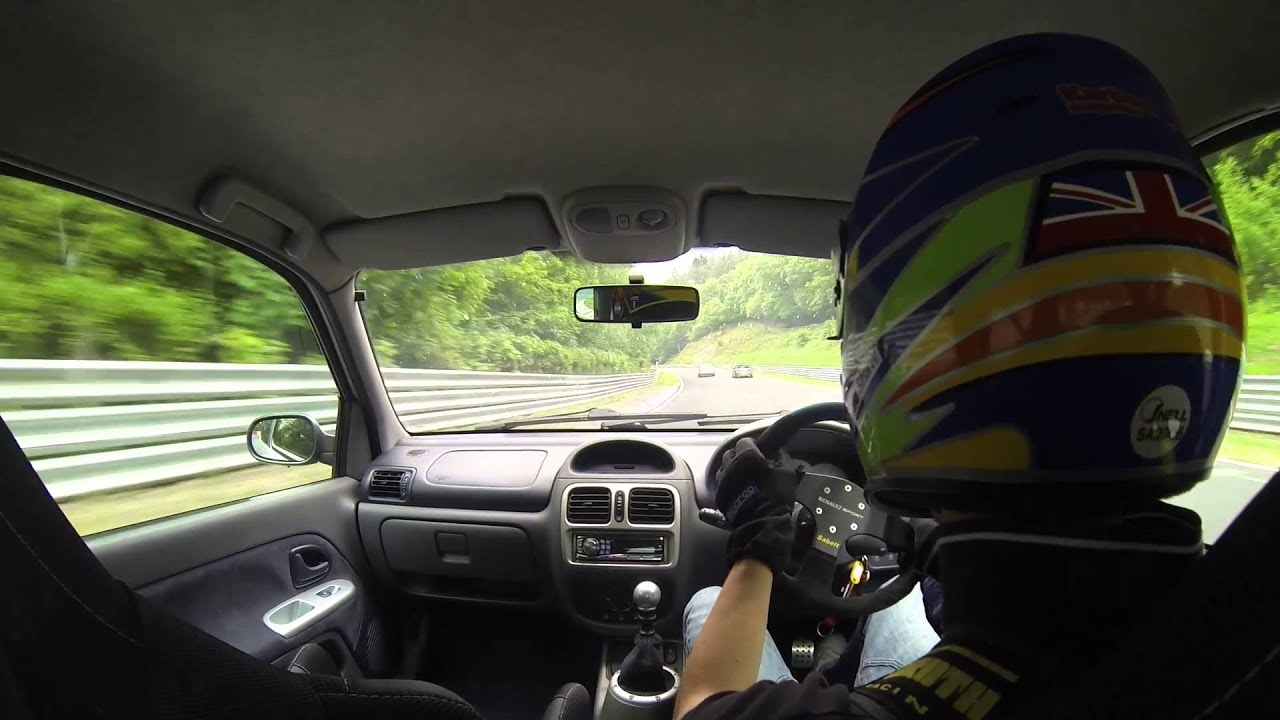 Nurburgring Nordschleife 2015 Compilation Renault Clio V6