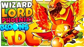 SPECIAL WIZARD LORD PHOENIX TIER 5 SUPER TOWER - Bloons TD 6 (BLOONS TOWER DEFENSE 6)