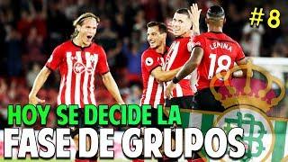 SE DECIDE LA FASE DE GRUPOS DE EUROPA LEAGUE #8 Real Betis | FIFA 19 Modo Carrera Manager Temp. 1