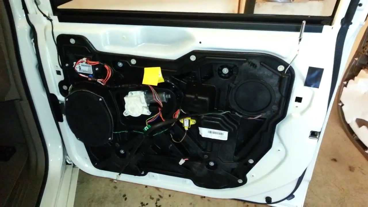 Fuse Panel Diagram 2012 Chrysler Town Amp Country Minivan Door Panel Removed