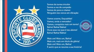 Baixar Hino do Esporte Clube Bahia   Oficial