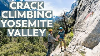 Crack Climbing Big Walls in Yosemite Valley, California | VLOG Part 2
