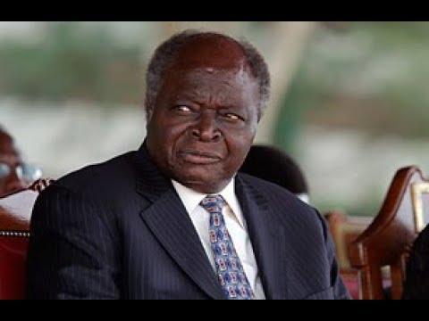 Retired president Mwai Kibaki managed to turn up and cast his vote at Munaini Primary School, Uthaya