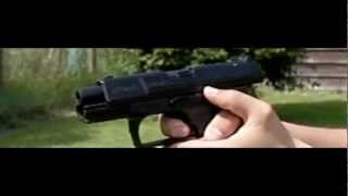 UMAREX WALTHER P99 DAO CO2 AIRSOFT PISTOL SLOW MOTION