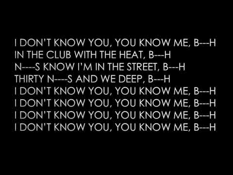 Smokepurpp - I Don't Know You ft  Yo Gotti and Chief Keef Official Lyrics