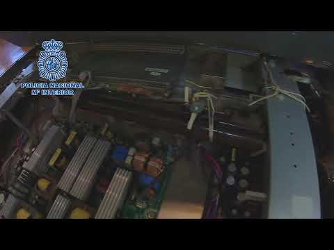 Operación policial con un arma localizada dentro de un televisor en el barrio del Guadalquivir