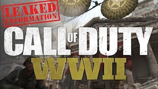 """Call of Duty World War 2 """"LEAKED"""" COD WW2 All Multiplayer Maps, Weapons & Zombies Leaks!"""