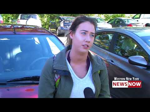 Students React After Bomb Threat Issued At State University Of New York At Fredonia