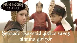 Şehzade Bayezid gizlice savaş alanına giriyor - Muhteşem Yüzyıl 93.Bölüm