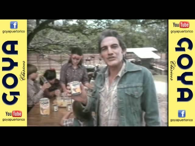 Clásico Jugo de Piña Goya (80's)