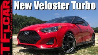 2019 Hyundai Veloster Turbo Sneak Peek Business in the Front, Party in the Back смотреть