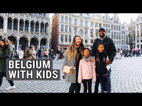 4 Days in Belgium With Kids - Belgium Family Travel Vlog