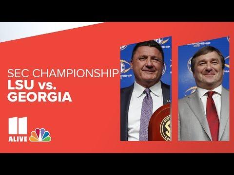 SEC Championship: LSU Vs. Georgia Livestream Preview