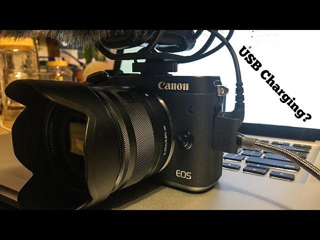 Canon M6 USB Charging