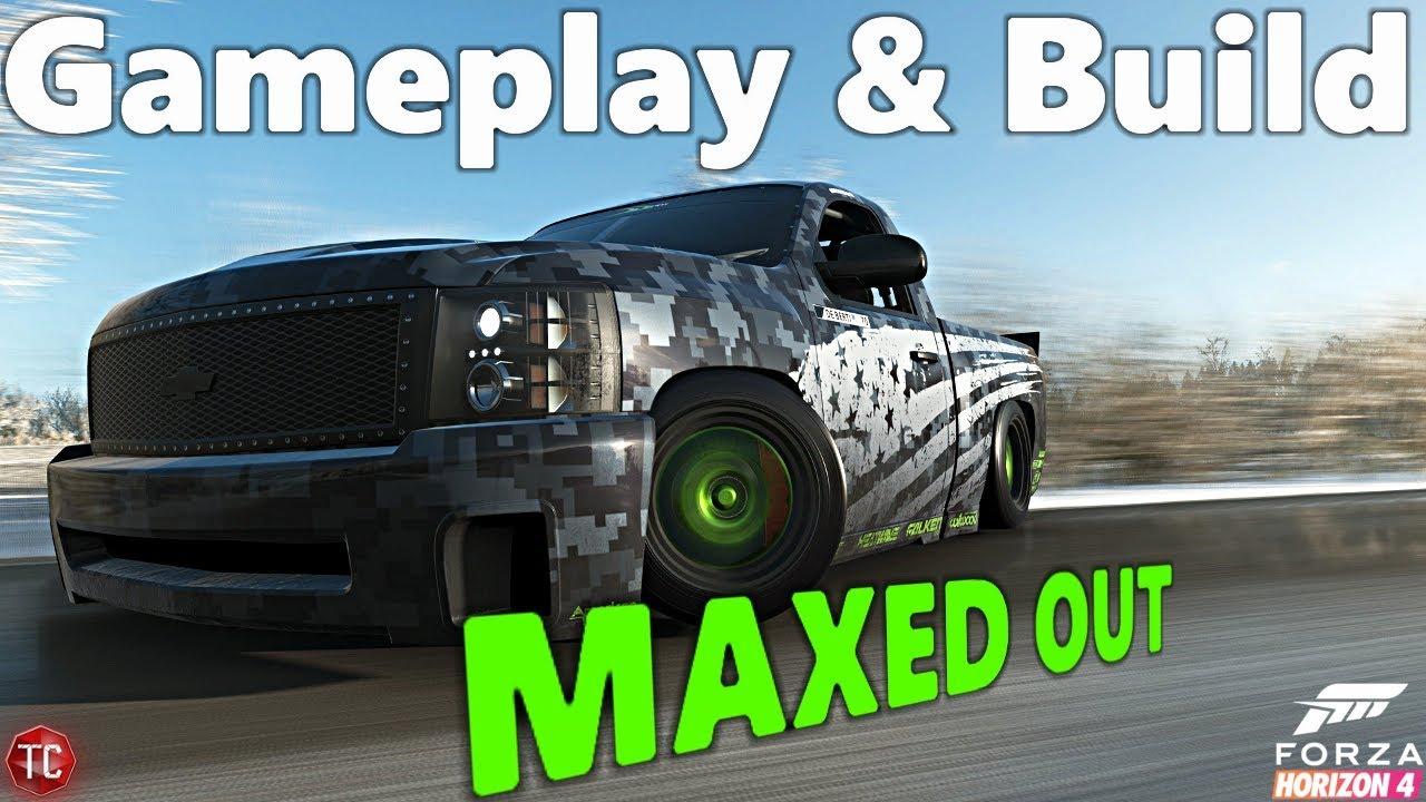 Forza Horizon 4 New Deberti Chevy Silverado Drift Truck Full