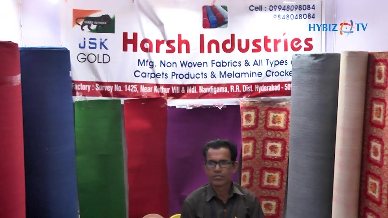 Harsh Industries - Non Woven Carpets & Crockery Manufacturers   Tent Decor  & Catering India