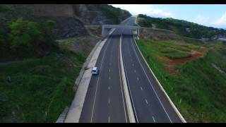 "Ocho Rios To Kingston highway ""Drone view"""