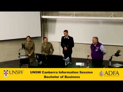 Bachelor of Business - UNSW Canberra