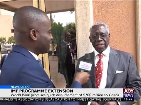 IMF Programme Extension - Business Desk on Joy News (6-9-17)