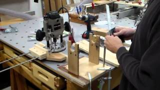 Adjustable Router Fence And Saddle