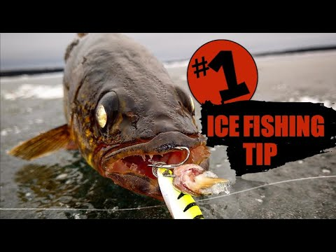 #1 Way To Catch More Fish Ice Fishing