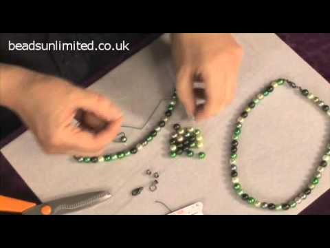 Silk Thread Necklace - The Beginners' Guide to Beading