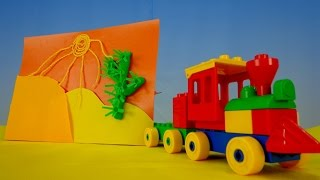 Видео для детей. Пустыня Поделки своими руками(Развивающее видео для детей. Давайте сделаем поделку своими руками, аппликацию Пустыня. Давайте отправимся..., 2015-05-03T18:56:13.000Z)