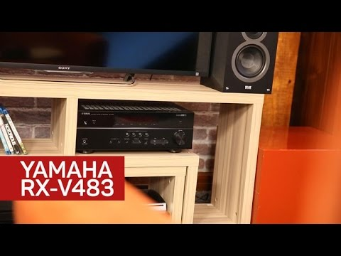 Yamaha 39 s rx v483 receiver offers excellent sound for th for Yamaha rx v483 canada