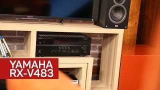 Yamaha's RX-V483 receiver offers excellent sound for the money
